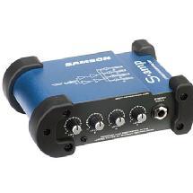 Samson S-amp 4 Channel Stereo Headphone Amplifier