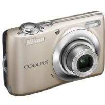 Nikon Coolpix L24 Digital Camera (Silver) - Manufacturer Reconditioned