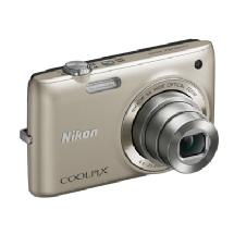 Nikon Coolpix S4100 Digital Camera (Silver)