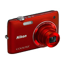 Coolpix S4100 Digital Camera (Red)