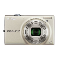 Nikon Coolpix S6100 Digital Camera (Silver) - Open Box*