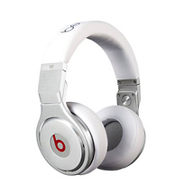 Monster Cable Beats Pro High Performance Professional Headphones (White)