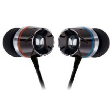 Monster Cable Turbine High Performance In-Ear Headphones (Black)