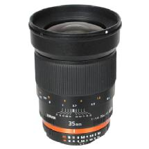Bower 35mm f/1.4 Manual Focus Lens for Canon