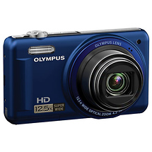 Olympus VR-320 Digital Camera (Blue) - Open Box*