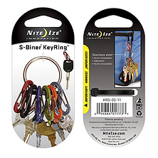 S-Biner Key Ring (Stainless Steel) Image 0