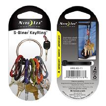 Nite Ize S-Biner Key Ring (Stainless Steel)