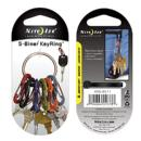 Nite Ize | S-Biner Key Ring (Stainless Steel) | S-Biner Key Ring