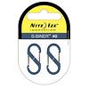 Nite Ize S-Biner Size-0, Double Gated Carabiner (2 Pack - Slate)