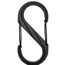 Nite Ize S-Biner Size 4 - Plastic (Black)