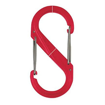 Nite Ize S-Biner Size 4 - Plastic (Red)