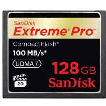 SanDisk 128GB Extreme Pro 100MB CompactFlash Card