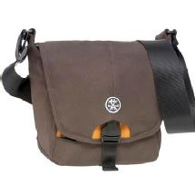 Crumpler 4 Million Dollar Home Camera Bag (Brown/Gunmetal/Orange)