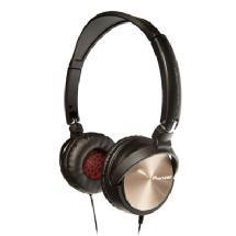 Pioneer Electronics Steel Wheels Headphones (Gold)
