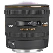 Sigma 4.5mm f/2.8 EX DC HSM Lens for Nikon