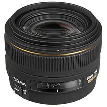 Sigma 30mm f/1.4 EX DC HSM Autofocus Lens for Nikon
