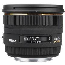 Sigma 50mm f/1.4 EX DG HSM Autofocus Lens for Sony & Minolta