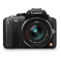 Panasonic Lumix G3 Digital Camera (Black) with 14-42mm Lens