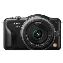 Samys Camera Lumix DMC-GF3 Digital Camera with 14mm Lens Kit (Black)