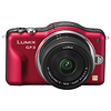 Panasonic | Lumix DMC-GF3 Digital Camera (Red) with 14mm Lens | DMCGF3CR