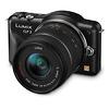 Lumix DMC-GF3 Digital Camera (Black) with 14-42mm Lens