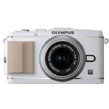 Olympus E-P3 Pen Digital Camera with 14-42mm Lens (White)