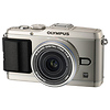 Olympus E-P3 Pen Digital Camera with 17mm Lens (Silver)
