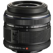 Olympus M. Zuiko Digital ED 14-42mm f/3.5-5.6 II Micro 4/3 Lens (Black)