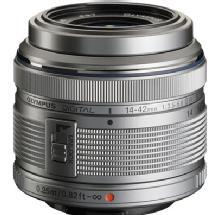 Olympus M. Zuiko Digital ED 14-42mm f/3.5-5.6 II Micro 4/3 Lens (Silver)