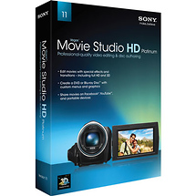 Sony Vegas Movie Studio HD Platinum 11 Software