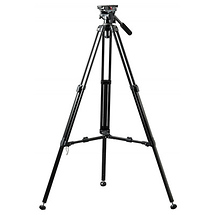 Daiwa DST-32 Lightweight Aluminum One Stage Video Tripod with Fluid Head