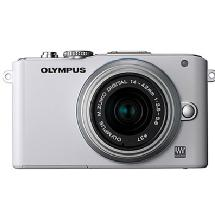Olympus E-PL3 Digital Camera with 14-42mm Lens (White)