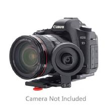 IDC Photo Video System Zero Follow-Focus Standard with Camera Plate for Canon 5D Mark II