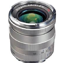 Zeiss 21mm f/2.8 Biogon T* ZM MF Lens for Zeiss Ikon & Leica M Cameras (Silver)