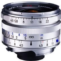 Zeiss 21mm f/4.5 C Biogon T* ZM Manual Focus Lens (Silver)