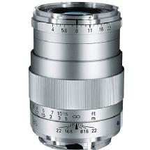Zeiss 85mm f/4 Tele-Tessar T* ZM Manual Focus Lens (Silver)