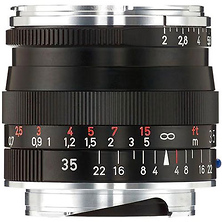 35mm f/2.0 ZM Biogon T* Manual Focus Lens (Leica M-Mount) - Black Image 0