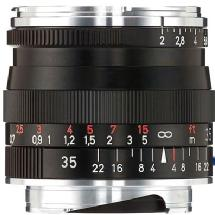 Zeiss 35mm f/2.0 ZM Biogon T* Manual Focus Lens (Leica M-Mount) - Black