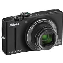 Nikon Coolpix S8200 Digital Camera (Black)
