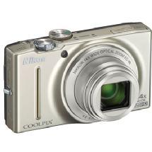 Nikon Coolpix S8200 Digital Camera (Silver)