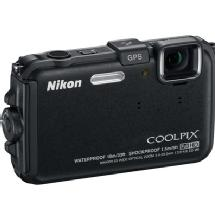 Nikon Coolpix AW100 Waterproof Digital Camera (Black) - Manufacturer Reconditioned