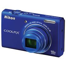 Nikon Coolpix S6200 Digital Camera (Blue) - Open  Box*