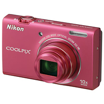 Nikon Coolpix S6200 Digital Camera (Pink) - Open Box*