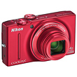 Coolpix S8200 Digital Camera (Red)