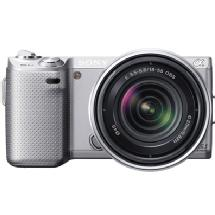 Sony Alpha NEX-5N Digital Camera with 18-55mm Lens (Silver)