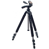 Pro 500DX Super Alloy A.M.T. Tripod Legs and 3-Way Pan/Tilt Head with 4-Way Quick Release