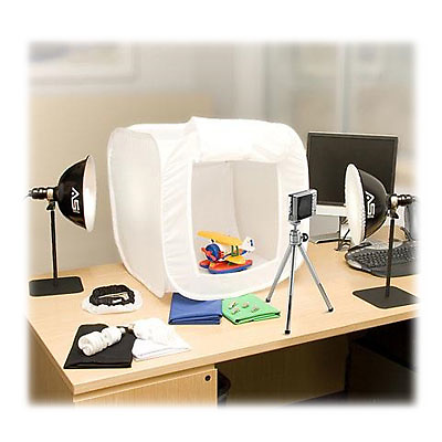 ImageMaker Fluorescent Light Tent Kit Image 0