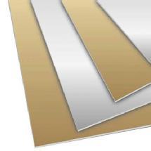 Superior Specialties 4x8 Foamboard (Silver/Gold)