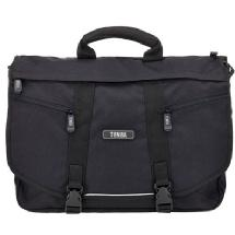 Tenba Messenger Photo/Laptop Bag, Large, Black (Engraveable)