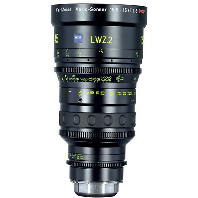15.5-45mm LWZ.2 Lightweight T2.6 Zoom Lens with Interchangeable Mount Image 0